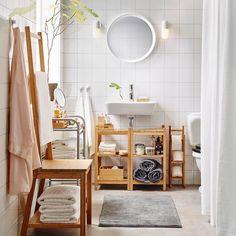 Scandinavisch geluk op een paar m². #badkamer #inspiratie #RÅGRUND #IKEA #IKEAnl