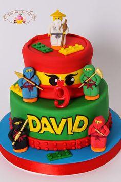 Torturi - Viorica's cakes: Tort Lego Ninjago pentru David