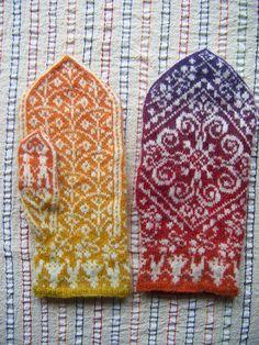 selbu mitts by craftivore, via Flickr