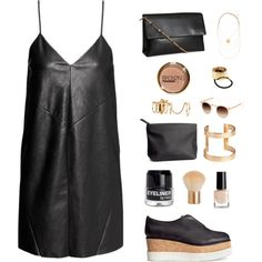 cheap fashion 4 by madelen-reinholdtsen on Polyvore featuring H&M Street Chic, Street Style, Leather Chain, Cheap Fashion, Polyvore, Street Style Fashion, Street Styles, Leather Necklace, Street Fashion