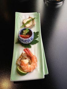 Seasonal summer appetizers, Kyoto, Japan
