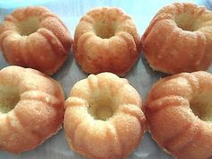 Rich & Yummy Homemade Mini Bundt Butter Pound Cakes (1 Dozen)