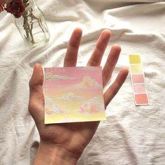 pencil drawings of love Art Inspo, Kunst Inspo, Painting Inspiration, Aesthetic Painting, Aesthetic Art, Aesthetic Drawing, Art Mini Toile, Art Et Design, Arte Sketchbook