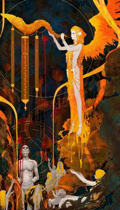 ArtStation - Tarot-20 The Judgement, Casimir Lee