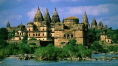 Orchha, Madhya Pradesh, India - It is a living medieval town