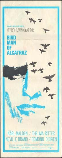 Birdman of Alcatraz Movie Poster - vintage original film poster, lobby card or collectible memorabilia -1546