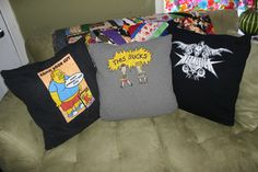t-shirt throw pillowcase - Imgur