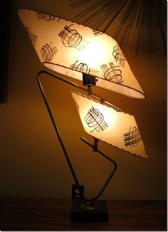 eBay Kitsch on the Blog - Majestic Table lamp