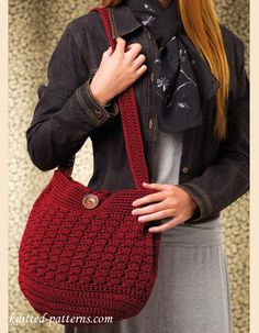 Update Your Wardrobe with these Cute Crochet Purses and Totes