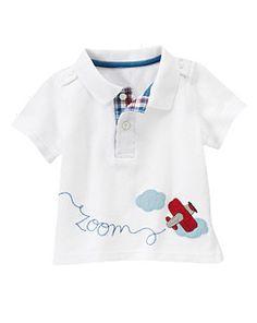Plane Zoom Polo Shirt