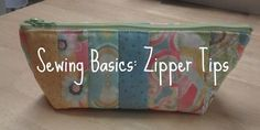 Sewing Zipper Tips