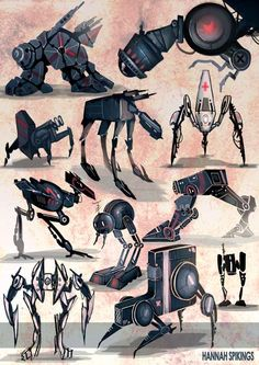 Robot Concepts 1 (Spikings,H. 2012) http://www.mediator.io/