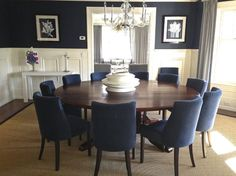 Like The Round Table Chair Style [Traditional   Dining Room   Images By  Interieurs