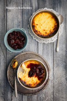 Baked ricotta with cherries Baked Ricotta, Cherries, Deserts, Calm, Baking, Food, Maraschino Cherries, Cherry Fruit, Bakken