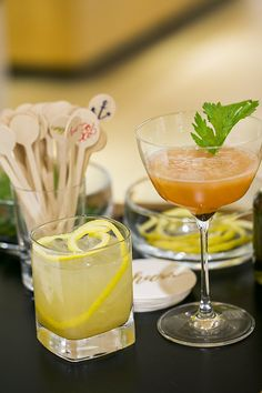 Cheers! Check out these delicious mocktails from The Wedding Party® Event with @100layercake!