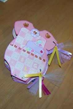 Baby girl onesie mini album