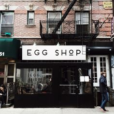 Egg Shop is a quaint little restaurant in Little Italy, where eggs are the main stars. I mean, who doesn't love a runny yolk? This place is seriously good. Egg Shop, Restaurant Photos, Photography Words, Little Italy, Back Home, East Coast, New York City, Thanksgiving, Eggs