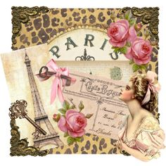 """""""Seven days in Paris..."""" by elonda on Polyvore"""