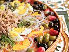 Mediterranean Diet Plan Fennel Salad With Olives, Eggs, And Tuna - 20 ridiculously healthy recipes that taste amazing Healthy Foods To Eat, Healthy Cooking, Healthy Eating, Healthy Recipes, Healthy Liver, Tuna Recipes, Simple Recipes, Diet Foods, Light Recipes