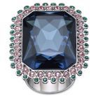 Ultra-sparkle: Spectacle Ring by #Swarovski