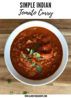 Do you like Indian cuisine? Interesting in knowing a whole lot more about it? Then read on and enjoy! Summer Lunch Recipes, Quick Summer Meals, Quick Lunch Recipes, Easy Meals, Curry Recipes, Vegetarian Recipes, Easy Indian Recipes, Ethnic Recipes, Indian Soup