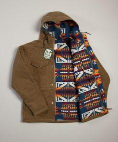 jacket - pendelton print