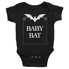 Mama Bat Baby Bat Goth Baby Clothes Mother Daughter Matching Outfits Mother and Son Matching O Gothic Baby Clothes, Trendy Baby Girl Clothes, Unisex Baby Clothes, Black Clothes, Baby Outfits, Cute Maternity Outfits, Target Maternity, Punk Maternity, Maternity Dresses