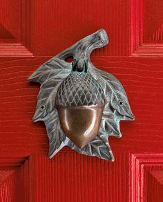 Acorn Doorknocker from Gaelsong.