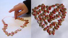 Collage de graines de courge | La cabane à idées