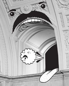 City Hall residency week 15. This building is full of long winded politicians, and as I do interviews about this project, I feel like one of them! 100 drawings to celebrate SF City Hall's 100th birthday. 98 done, 2 to go. Photograph by the radical @marrstache @sfacgalleries #happy100thbirthdaycityhall #ogloriouscity opening reception 11/19/15