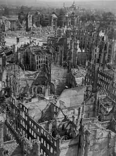 History Page, World History, World War Two, Old World, Dresden Bombing, German Architecture, Dresden Germany, Berlin City, Hero's Journey