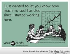 E-cards About Co-Workers | For all of you slowly dying at your desks