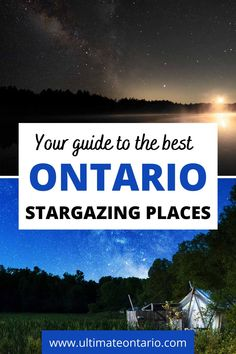 Wondering what the best things to do in Ontario are? Perhaps you are looking for a unique activity in Ontario? Then you need to explore the best stargazing spots in Ontario! Discover the best Ontario parks and preserves for stargazing.  #OntarioParks #OntarioTravel #Ontario #CanadaTravel #Canada #Stargazing Ontario Travel, Toronto Travel, Travel Advice, Travel Guides, Manitoulin Island, Ontario Parks, Canadian Travel, Most Romantic Places, Short Trip