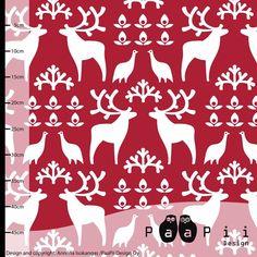 Preorder fabric: Poro by PaaPii Design, Anniina Isokangas
