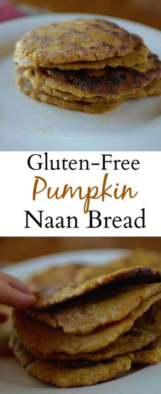 Gluten-free Pumpkin Naan Bread (makes 6)