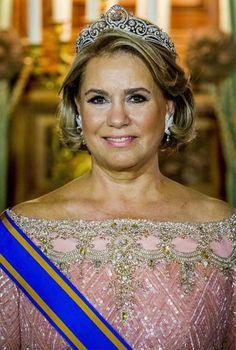 Royal Crown Jewels, Royal Crowns, Royal Jewelry, Princess Style, Prince And Princess, Nassau, The Duchess, Maria Teresa, Grand Duke