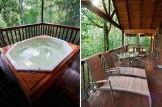 10 cosy cabins and cottages for a winter break Treehouse Cabins, Best Red Wine, Jacuzzi Outdoor, River Cottage, Knysna, Wooden Cabins, Cabins And Cottages, Day Hike, Lodges