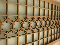 Japanese joinery by Sannainen, via Flickr