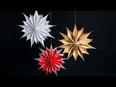Holiday Crafts, Christmas Crafts, Leaf Tattoos, Origami, Diy And Crafts, Fancy, Ceiling Lights, Inspiration, Home Decor
