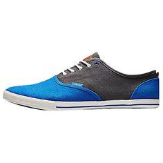 Blau graue #Sneaker ab 34,95€ ♥ Hier kaufen: http://stylefru.it/s327033 #schuhe #jackjones