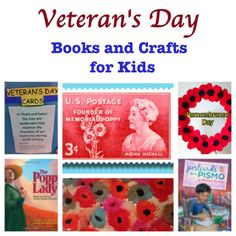 Veteran's Day Books and Craft Ideas for Kids from Pragmatic Mom