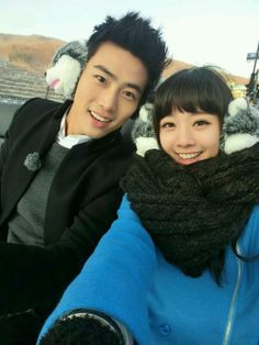 "Taecyeon & Gui Gui in ""We Got Married - Global Edition"" reality variety show"
