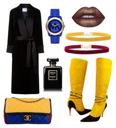 """""""Untitled #50"""" by clarabellasweet ❤ liked on Polyvore featuring Racil, Christian Lacroix, Rock 'N Rose, Chanel, Michael Kors and Lime Crime"""