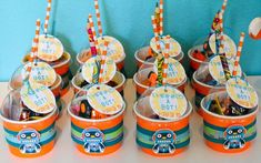 Robot Themed Birthday Party with Lots of Fun Ideas via Kara's Party Ideas | KarasPartyIdeas.com #Robots #Party #Ideas #Supplies (4)