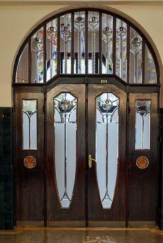Late Art Nouveau. Schiffer Villa, 1910