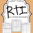 This includes three recording pages to help you keep track of your level 3 RTI students. FREEBIE