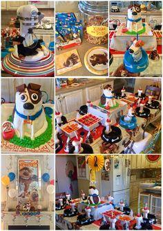 Secret Life of Pets Greyson's 2 Puppy Birthday Parties, Puppy Party, Dog Birthday, Birthday Party Themes, Birthday Ideas, Bolt 2, Secret Life Of Pets, Animal Birthday, Party Packs