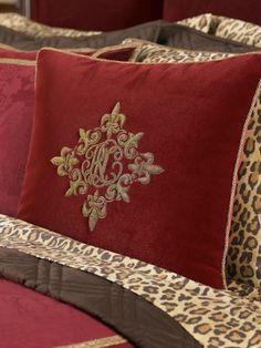Ralph Lauren; Venetian Court Bullion Pillow