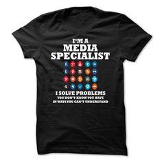 Media Specialist Funny T-Shirt Hoodie Sweatshirts ouo. Check price ==► http://graphictshirts.xyz/?p=68233