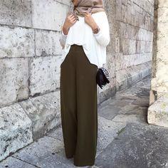 64 Ideas fashion hijab style ootd for 2019 Eid Outfits, Modest Outfits, Modest Fashion, Fashion Outfits, Ootd Fashion, Hijab Wear, Casual Hijab Outfit, Hijab Chic, Hijab Fashion Inspiration